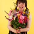 Getting colorful flowers — Stock Photo #12189937