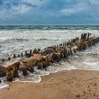 Stock Photo: Groyne