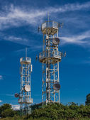 Radio tower — Stock Photo
