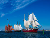 Hanseatic Sail — Stock Photo