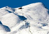 Ski-Pisten — Stockfoto
