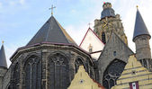 St Walburgakerk, Oudenaarde, Flanders, Belgium — Stock Photo
