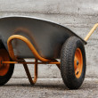 Royalty-Free Stock Photo: Orange farmer's two wheelbarrow