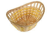Traditional wicker basket — Stock Photo