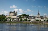 Castle of Samur, Loire valley — Stock Photo