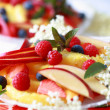 Stock Photo: Fresh summer fruits