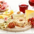 Catering cheese platter - Stock Photo