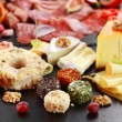 Antipasto catering platter — Stock Photo