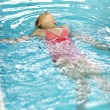 Swimming backstroke — Stock Photo #11221070