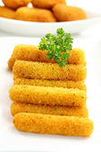Fried cheese sticks — Stock Photo