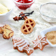 Royalty-Free Stock Photo: Baking ingredients for cookies and gingerbread