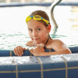 Child relaxing at whirlpool — Stock Photo #12044932