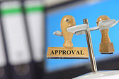 Approval — Stock Photo