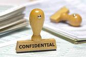 Confidenziale — Foto Stock