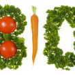 Bio vegetable — Stock Photo