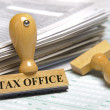 Stock Photo: Tax office