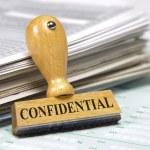 Confidential — Stock Photo