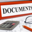 Document file — Stock Photo