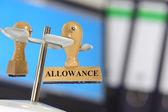Allowance — Stock Photo