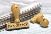 Daňový úřad — Stock fotografie