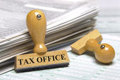 Tax office — Stockfoto