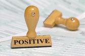 Positivos — Fotografia Stock