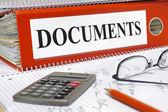 Documentbestand — Stockfoto
