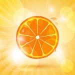 ������, ������: Juicy orange slice