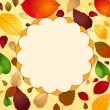 Royalty-Free Stock Vector Image: Autumn leaf background