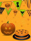 Halloween party background2 — Stock Vector