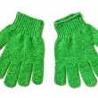 Vegetable scrubbing gloves — Stock Photo #10912531