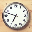 Retro wall clock — Stock Photo