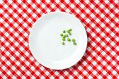 Guisantes verdes frescos — Foto de Stock