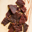 Tasty beef jerky — Stock Photo