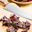 Tasty beef jerky — Stock Photo #11661356