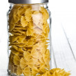 Pasta farfalle — Stock Photo