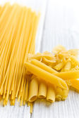 Various raw pasta — Stock Photo