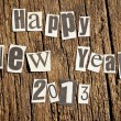 New Year wishes — Foto de Stock