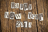 New Year wishes — Stock Photo