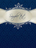 Royal vintage cover — Vetorial Stock