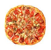 Baked Sliced Pizza — Stock Photo