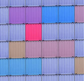 Shipping containers — Stock Photo