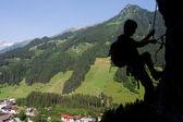 Via ferrata/Klettersteig Climbing — Foto Stock