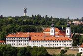 Strahov klooster — Stockfoto