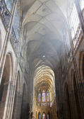 Nave of the cathedral — Stock Photo