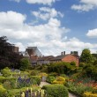 Stock Photo: English country garden, Stratford