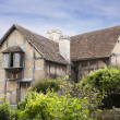Shakespeare's birthplace. — Stock Photo
