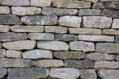Dry stone waal — Stock Photo