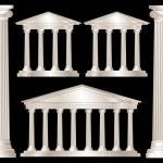 Greek columns — Stock Vector