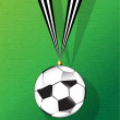 Football bauble — Stockvektor